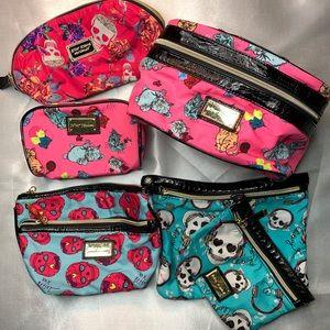 Betsey Jhonson Makeup Bag Bundle